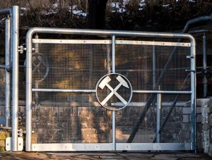 Bergbau, Tor, Hammer, Symbol