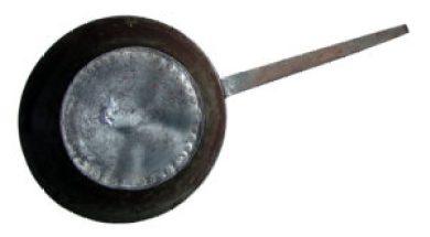 Schmied, Pfannenschmied, Eisenpfanne