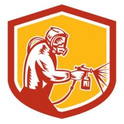 Autolackierer, Fahrzeuglackierer, Karosserielackierer, Berufszeichen
