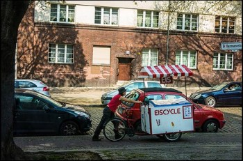 Eiscycle, Eismobil, Eisverkäuferin, Wedding