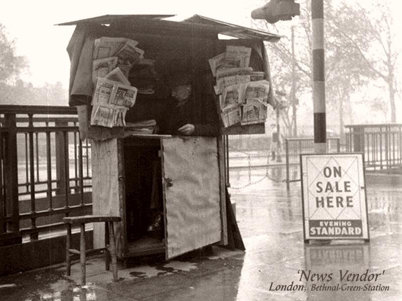 Der Zeitungsverkäufer