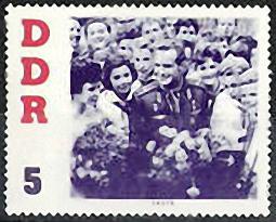 DDR, Briefmarke, Kosmonaut, Astronaut, Titow