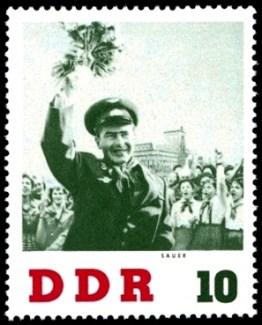 DDR, Briefmarke, Kosmonaut, Astronaut, Pioniere
