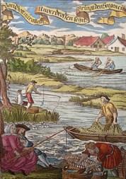 Fischer, Fangmethoden, angeln, Fischernetz