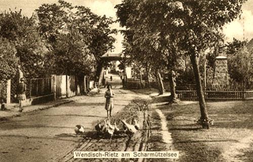 Gänsehüter, Gänsemagd, Gänseliesel, Brandenburg