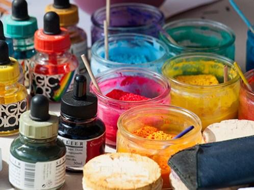 Kunstmaler, Maler, Farben