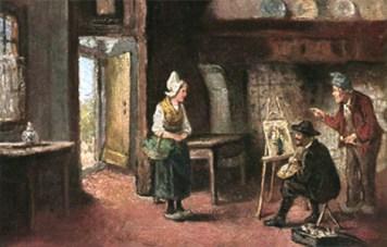 Kunstmaler, Maler, Portraitmalerei