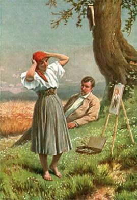 Kunstmaler, Maler, Portraitmaler