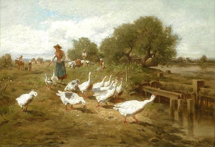 Gänsehüter, Gänsemagd, Gänseliesel