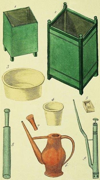 Gartenwerkzeuge, Gartengeräte