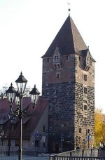 Farbfoto vom Nürnberger Schuldturm