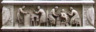 Steinmetz, Schutzpotrone, Florenz