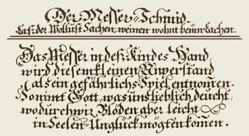 Spruch - Ständebuch