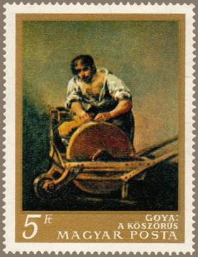 ungarische 5-Forint-Briefmarke
