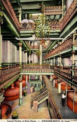 Einblick in eine pompöse Brauerei