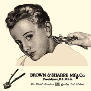 Werbung für Haarklipper - 1922, USA