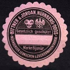 alte Siegelmarke aus Papier