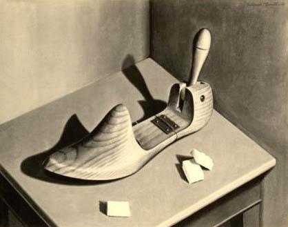 Foto: Holzmodel für Schuhfertigung