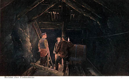 im Bergbau