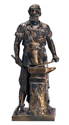 kleine Bronzefigur