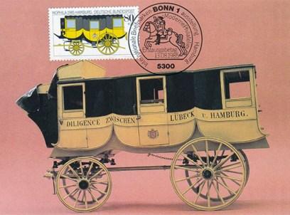 Bildkarte: Eilwagen mit drei Kabinen