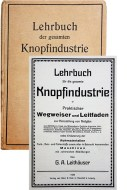 Buchcover 'Lehrbuch der gesamten Knopfindustrie'