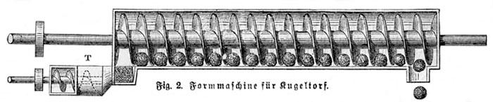 schematische Zeichnung einer Maschine
