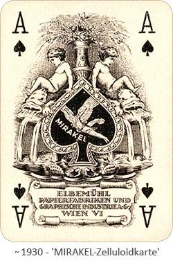 Foto: Zelluloidkarte von MIRAKEL ~ 1930, AT