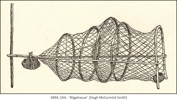 Zeichnung: Bügelreuse - 1894, USA