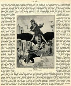 Zeitungsartikel zum Thema Pest