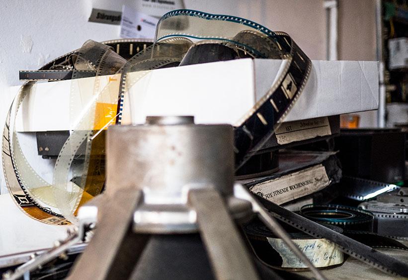 alte Filmstreifen