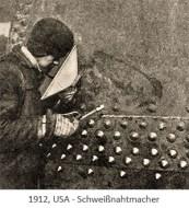sw Foto: Der Schweißnahtmacher ~1912, USA