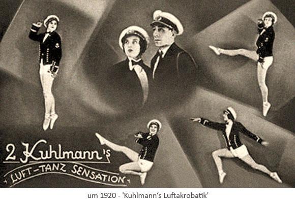 Luft-Tanz-Sensation: Akrobaten
