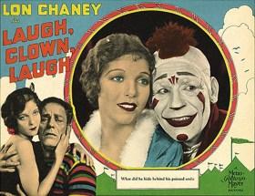 Filmposter zu 'Laugh, Clown, Laugh' - 1928, USA