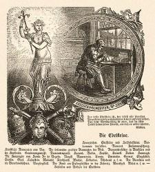 illustriertes Titelblatt: Edelsteine & Edelsteinschleifer -1877
