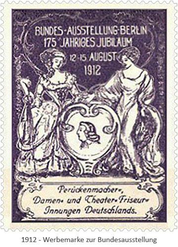 Werbemarke: 175jähriges Jubiläum der Bundesaustellung - 1912, Berlin