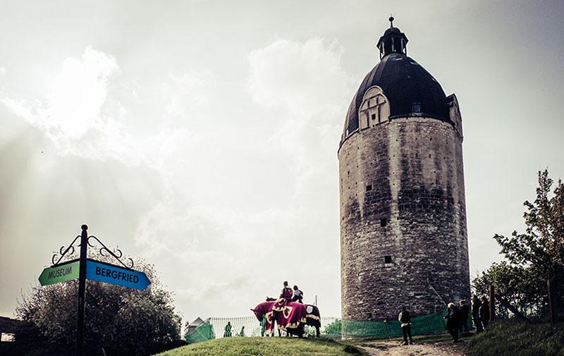 Foto: alter Wehrturm