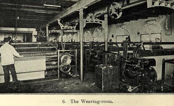 sw-Foto: der Webraum