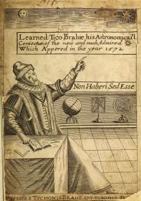 alte Buchseite: Mann und Globen