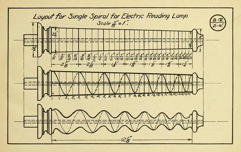 Konstruktionszeichnung für Holzständer
