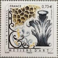 Briefmarke Schmiedekunst