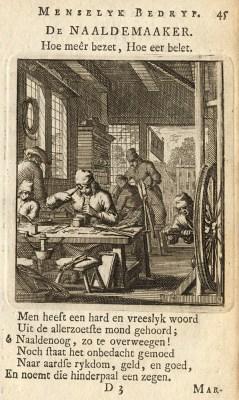 Menschen arbeiten in einer Werkstatt