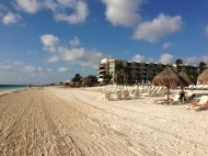 Dreams Riviera Cancun beach photo