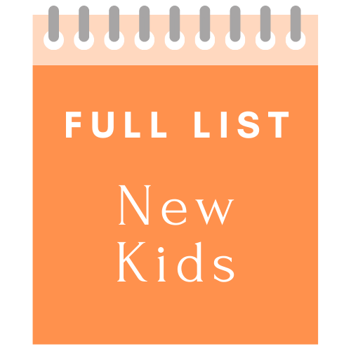 Full List New Kids