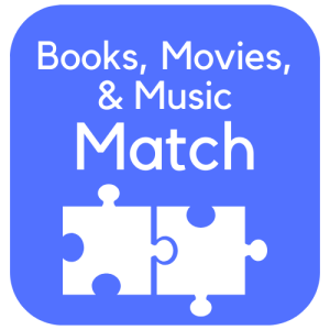 Books, Movies, & Music Match