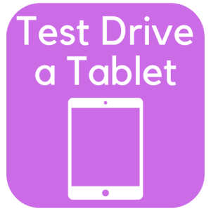 Test Drive a Tablet