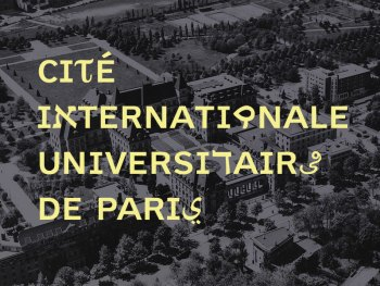 la Cité Internationale Universitaire de Paris en 1954