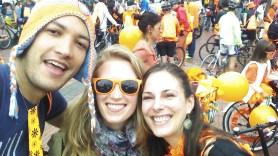 Andres, Sabrina en ik