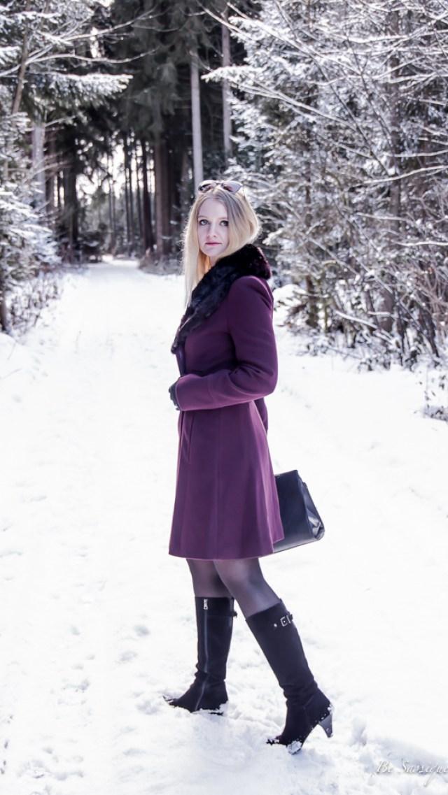 Wintertrends 2017 - Wie du stylisch durch den Winter kommst mit den Top 10 Trends: Overknee Stiefel, Gürtel, Daunenjacke- Fake Fur, Oversize, Trendfarbe Rot, 70ties Style, Turtleneck, Samt und Leoprints. Mehr aus Be Sassique