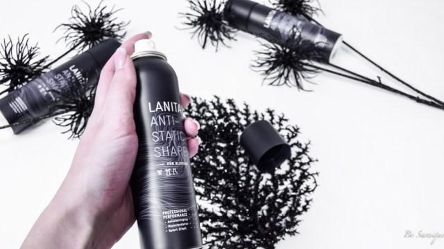 Deine Kleidung ist immer statisch aufgeladen, klebt an dir und lässt deine Haare zu berge stehen - nicht mehr! Dank Lanita Antistatic Spray.
